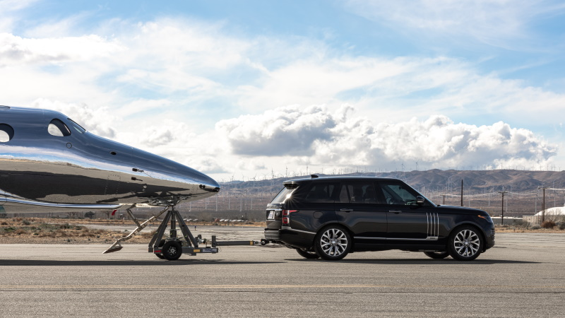Land Rover Extends Partnership with Virgin Galactic
