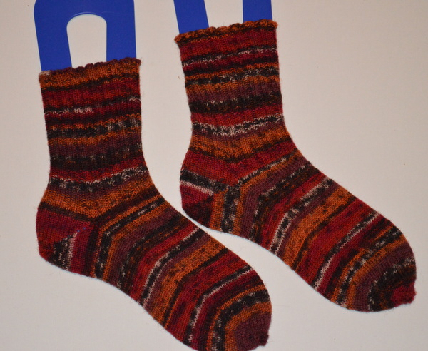 Drops Fabel Dark Red/Bourgogne Socks
