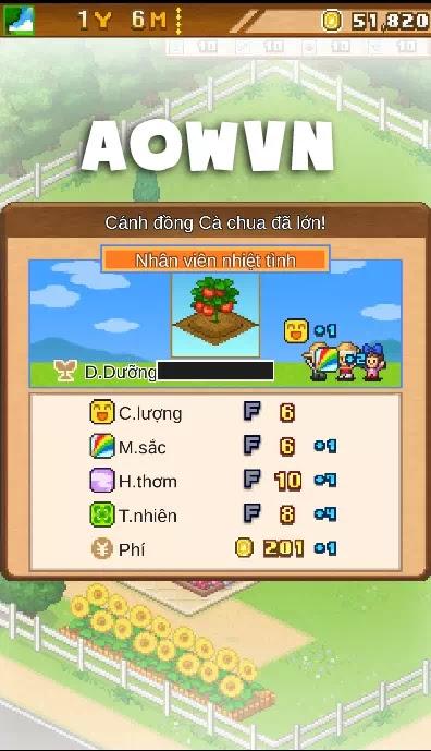 game 8 bit farm viet hoa android aowvn%2B%25283%2529 - [ HOT ] Game 8-Bit Farm Việt Hóa   Quản Lí Nông Trại cực mạnh