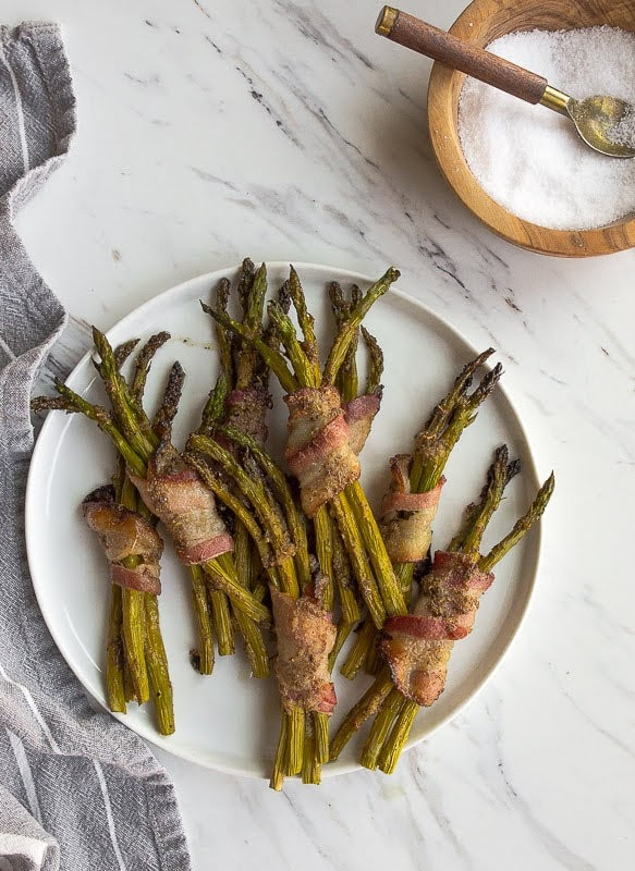 Bacon-Wrapped Asparagus | Photo Courtesy of Dessert for Two