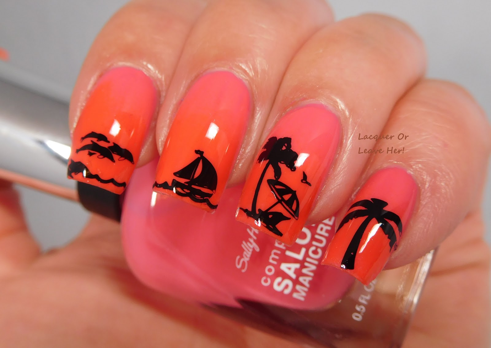 Lacquer or Leave Her!: Sally Hansen CoTM: Get Juiced & Kook a Mango
