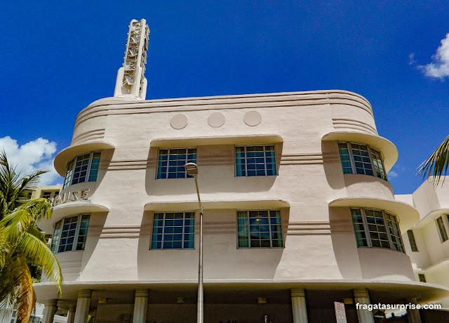 Essex Hotel, arquitetura art déco em Miami Beach