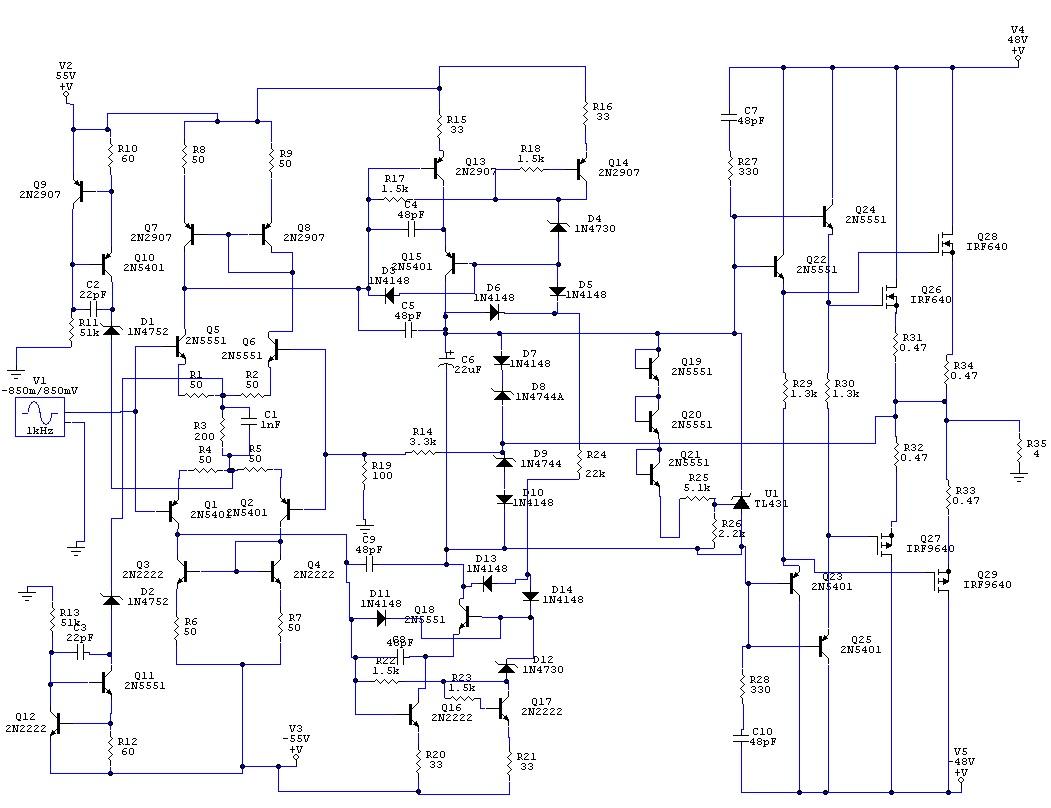 Kituri Amplificatoare Audio 2016 Stk 4050 8211 200watt Power Amplifier Circuit Amplificator Mosfet 200w 4 Ohmi