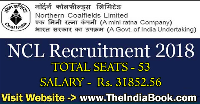 NCL Singrauli Recruitment For 672 Operator Trainee, Staff Nurse & Other Posts 2018