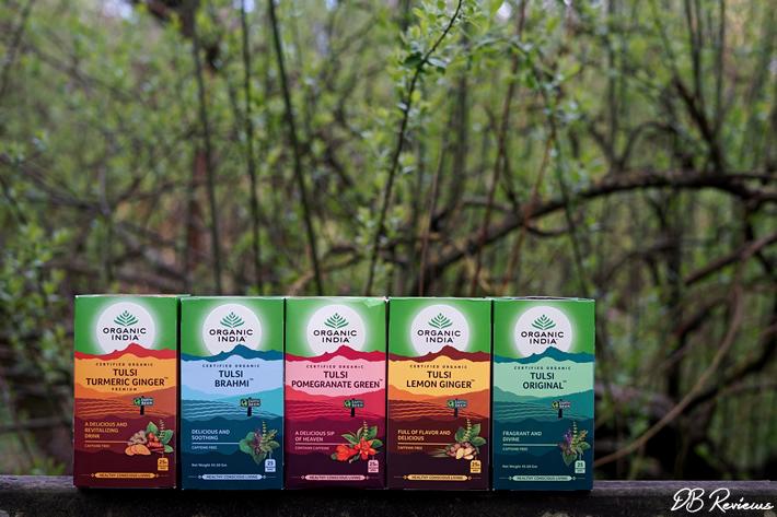 Organic India Herbal Tulsi Tea