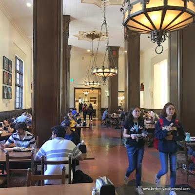 Dining Room at International House on U.C. campus in Berkeley, Calfornia
