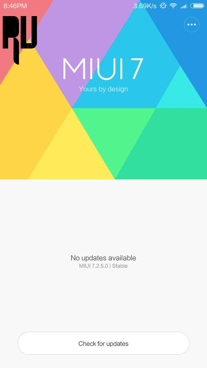 How To Update Xiaomi Redmi Note 2 Miui 8 Root Prime Just Tap On That