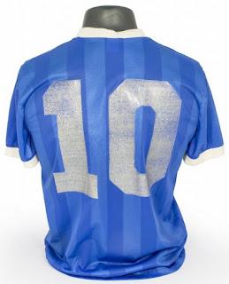 Camisa Original de Maradona Mundial 1986