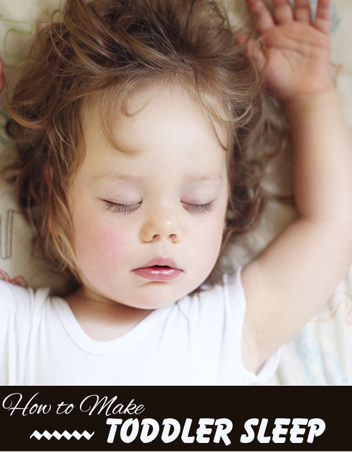 How to Make Toddler Sleep