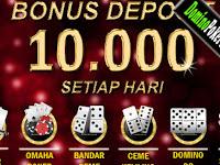 ARENAJACKPOT - Bonus Deposit Poker Idnplay Sebesar 100.000