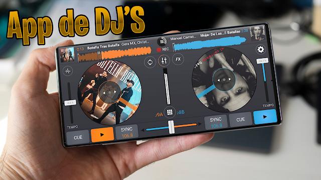 ¿Quieres Ser DJ? Con Esta App Puedes Lograrlo Sin Ocupar Tornamesa | Cross DJ Pro