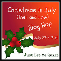 christmas in july then and now blog hop