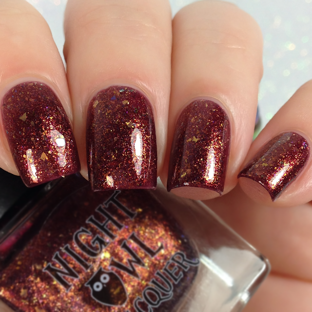 Night Owl Lacquer-I Solemnly Swear That I'm Up To No Good