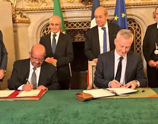 الجزائر توقع عقدا استشماريا جديدا مع فرسنا