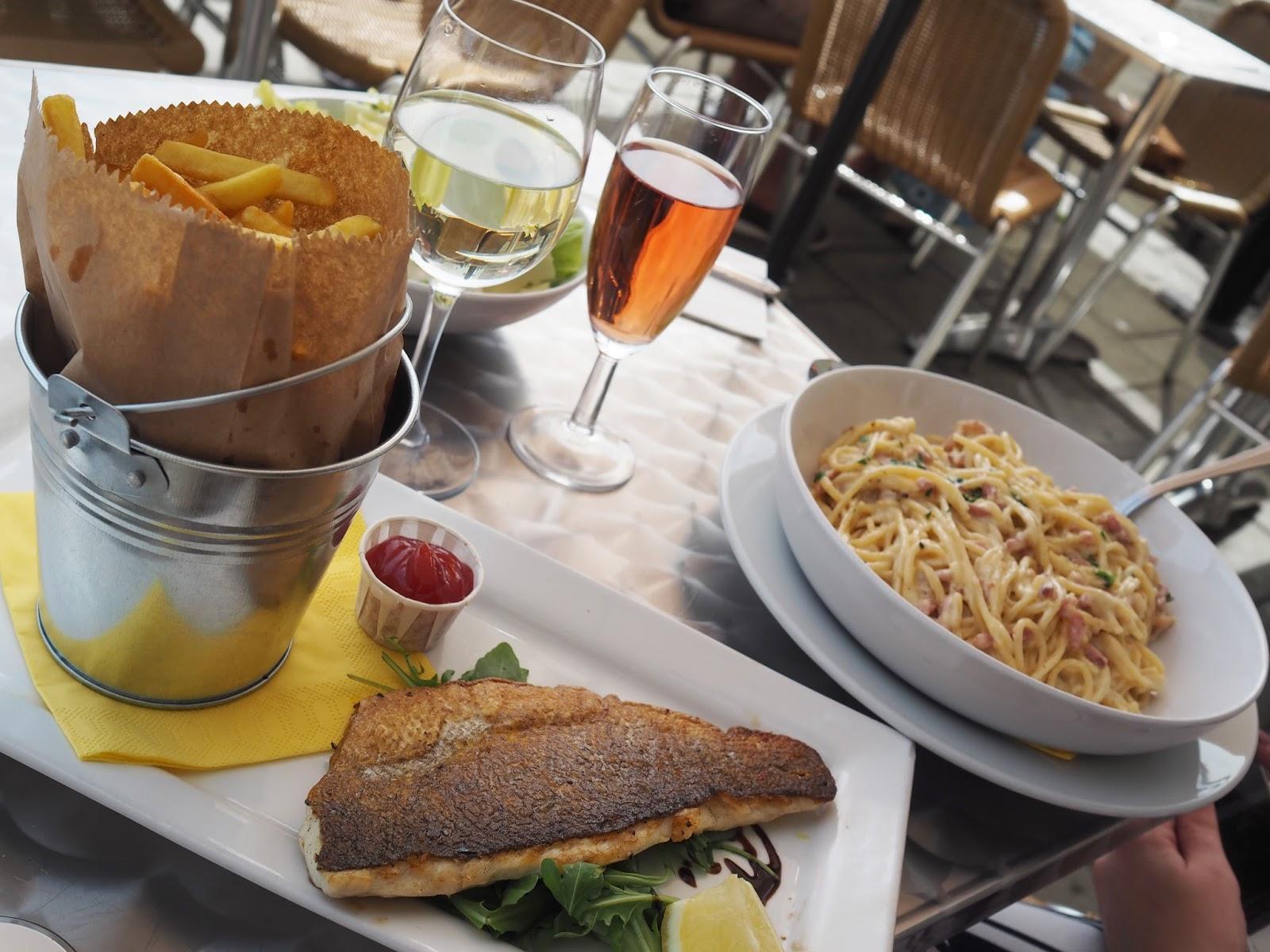 Seafood at Taste, brighton