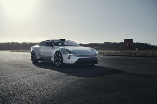 Polestar Precept .. an electric car with Android system