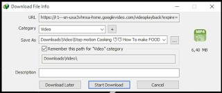gambar start download file di idm