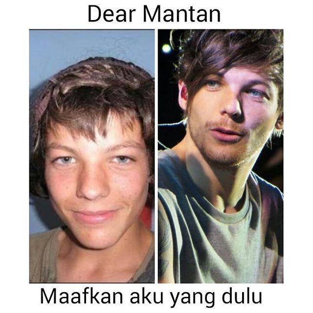 Meme Dear Mantan one direction