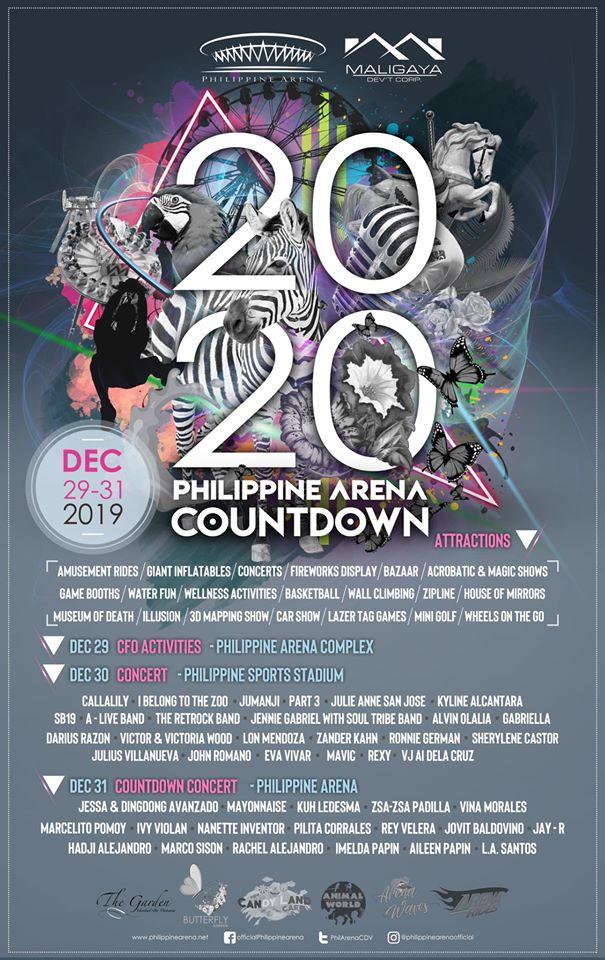 2020 Philippine Arena Countdown