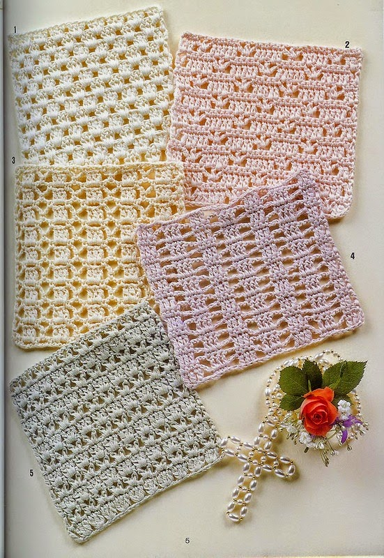 15 nuevos puntos al crochet