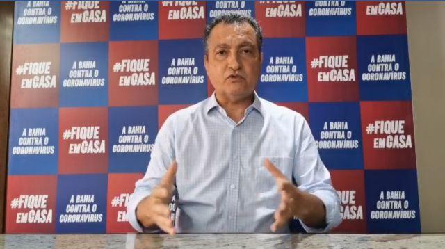 Com média de 100 mortes por dia, Governador da Bahia prorroga lockdown até quarta
