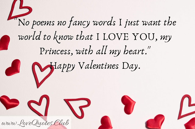 love quotes for Valentine day