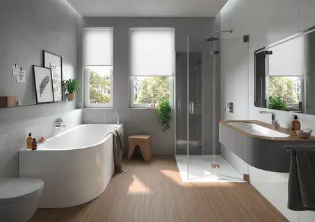 ideas of bathroom decor with ceramics