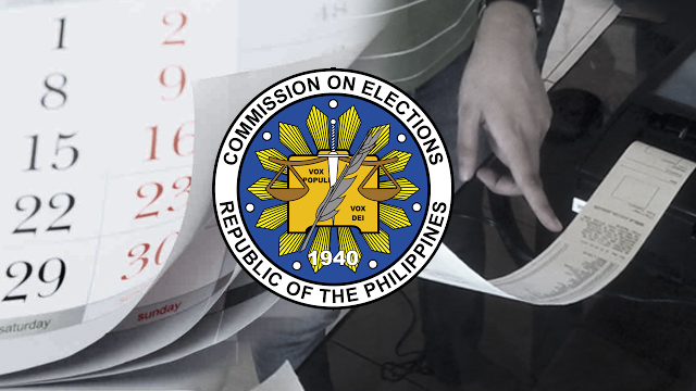 Just in: Presidential elections is now moved to June 10 - COMELEC (Photo by Rappler)