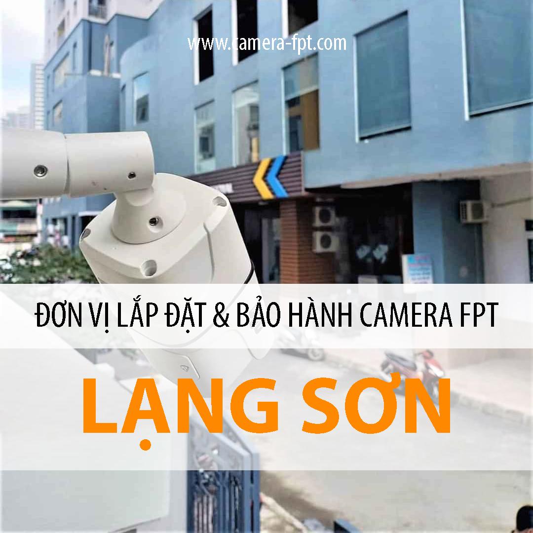 Camera FPT Lạng Sơn - Đơn vị lắp đặt & Bảo hành Cloud Camera FPT