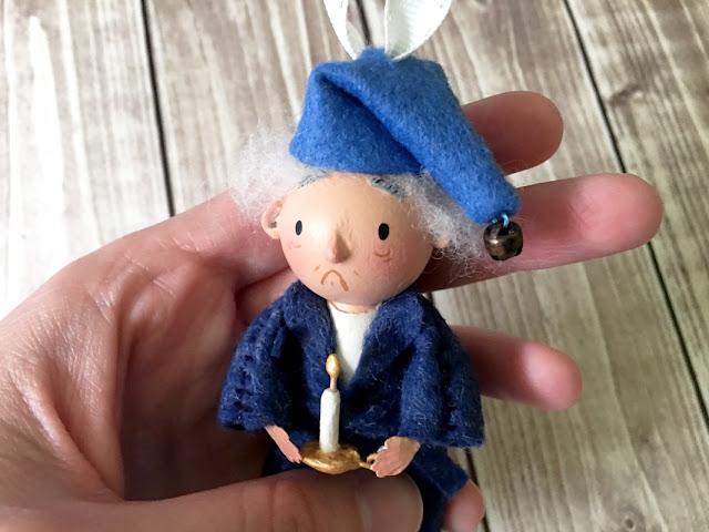 Scrooge Ornament
