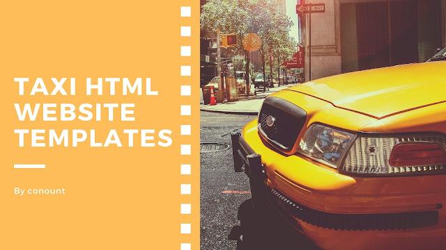 Taxi HTML Website Templates