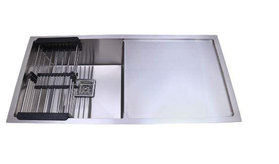 CROCODILE Single Square Bowl Kitchen Sink