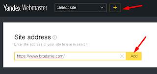 Cara Daftar dan Submit Blog di Yandex Webmaster