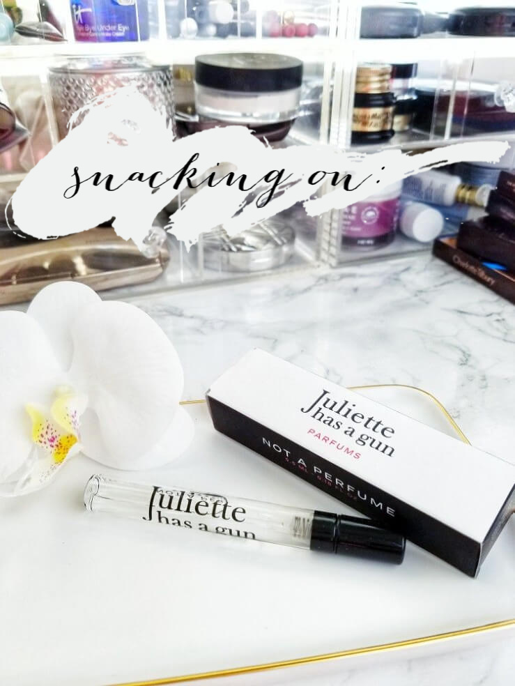 Snacking on Juliette Has a Gun Parfums | Not a Perfume