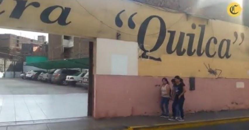 Iglesia desalojó a vendedores de libros del «Boulevar de la Cultura» para convertirlo en cochera de vehículos sin licencia municipal [VIDEO]