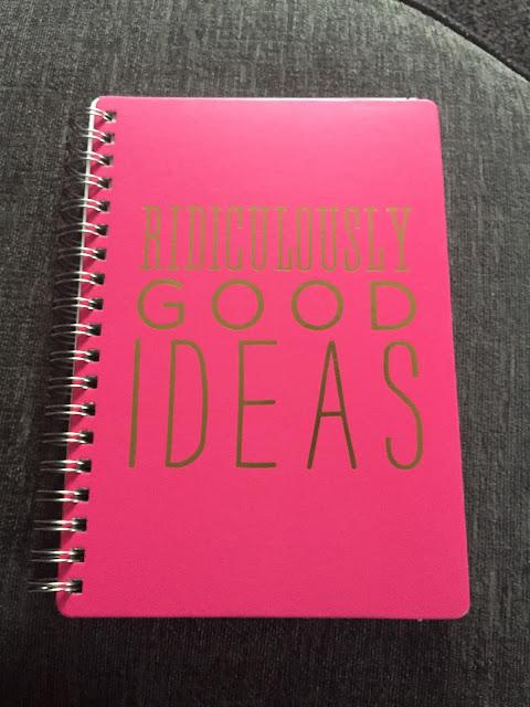 Ridiculously good ideas home sense notebook haul