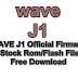 WAVE J1 Official Firmware Stock Rom/Flash File Free Download