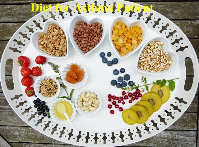 diet for asthma patient.