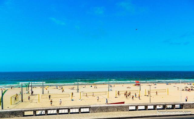Praia em Cascais, Portugal
