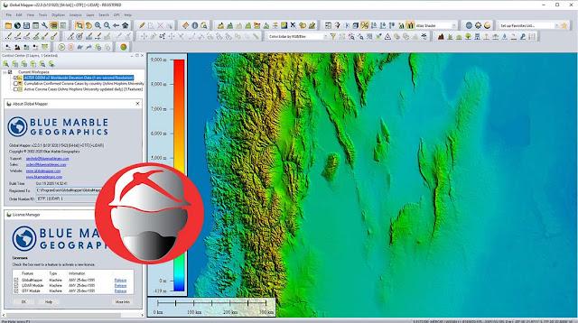Blue Marble Global Mapper v22.0