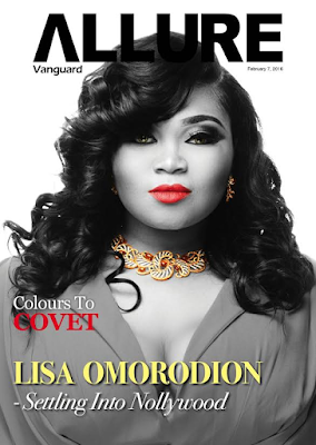 Actress Lisa Omorodion Covers The Week's Vanguard Allure