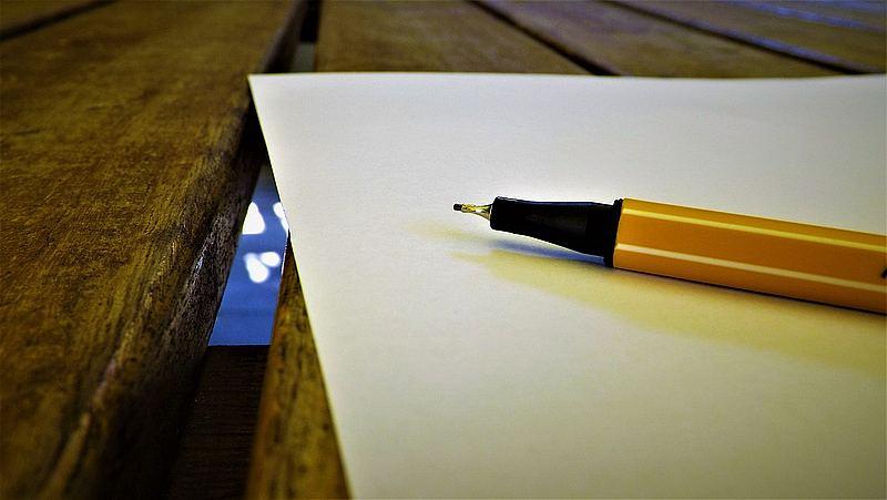rysowanie cienkopisem