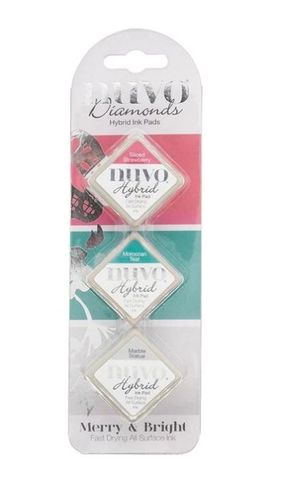 Nuvo Merry & Bright Diamond Ink Pads
