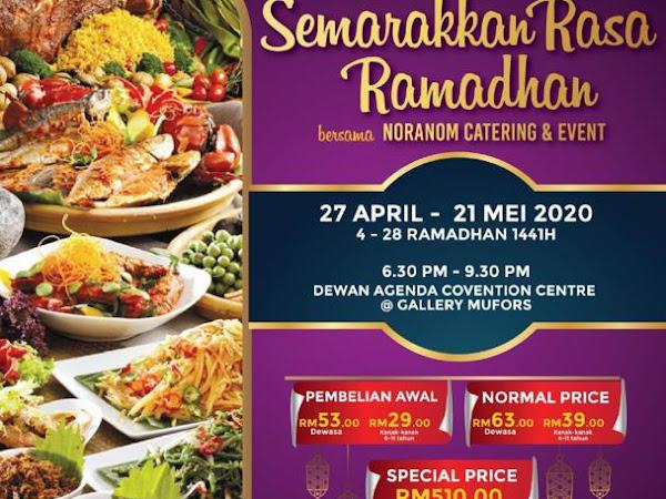 Buffet Ramadhan 2020 : Naranom Catering ajak berbuka di tengah lebuhraya