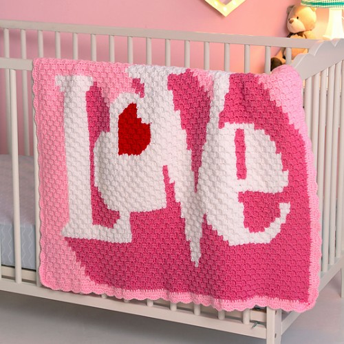 Heart Throb Blanket - Free Pattern