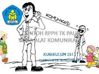RPPH Tema Alat komunikasi subtema Macam-macam Alat Komunikasi (SAINTIFIK dengan 5M)