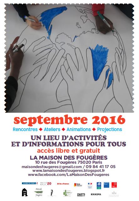 activites paris aout 2016