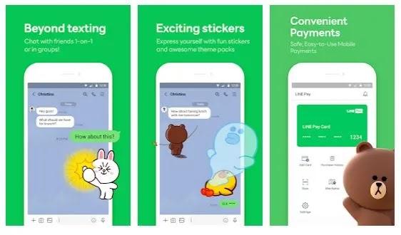LINE, aplikasi chatting terbaik untuk menambah teman