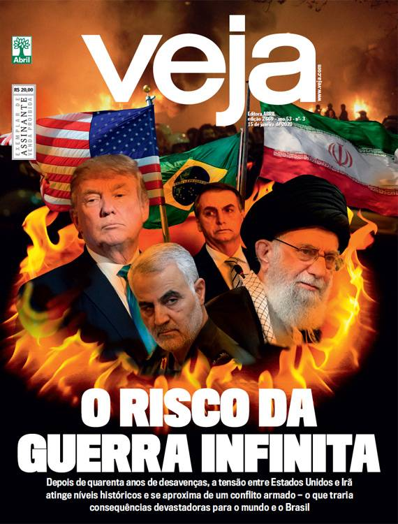 REVISTAS SEMANAIS- Destaques de capa das revistas que estão chegando às bancas e residências dos assinantes nesta segunda-feira, 13/01/2020