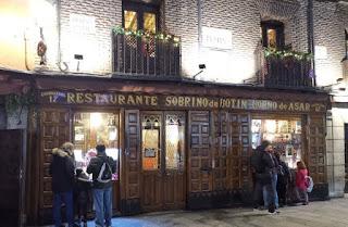 Madrid, Restaurante Botín.